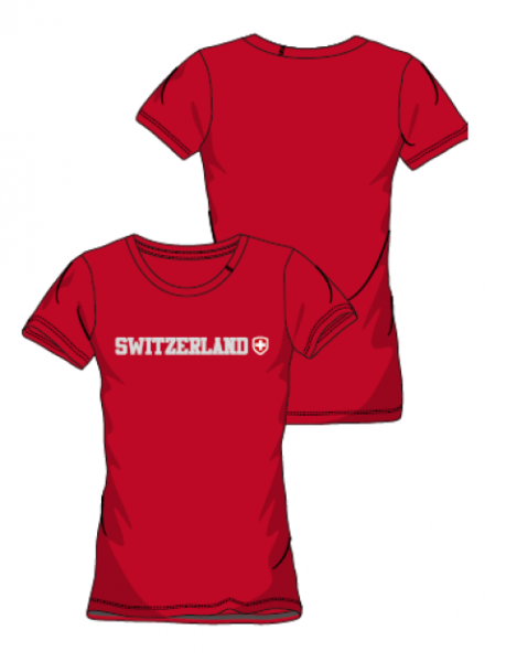 Switzerland T-Shirt Damen