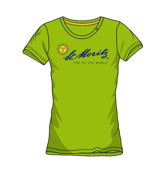 St. Moritz T-Shirt Damen