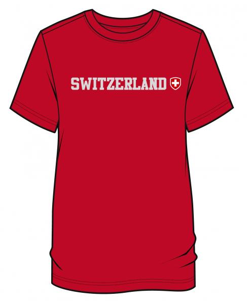 Switzerland T-Shirt Herren