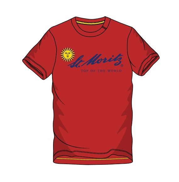 St. Moritz T-Shirt Herren