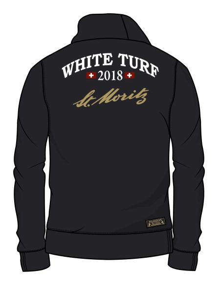 111 Jahre WHITE TURF Sweatjacke Herren