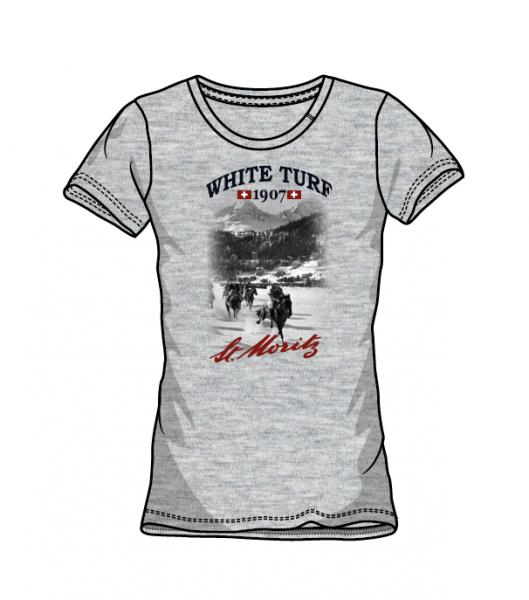 WHITE TURF T-Shirt Damen